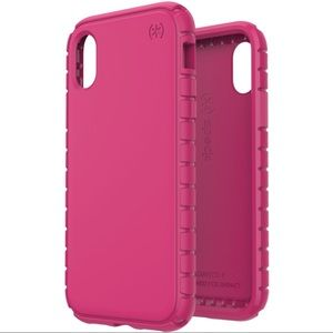 Speck Tough Skin iPhone X/Xs (Beetroot Pink)